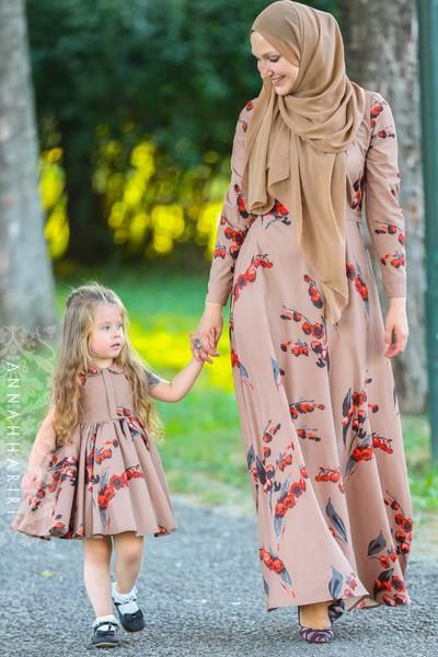 Little Autumn Cherry Dress