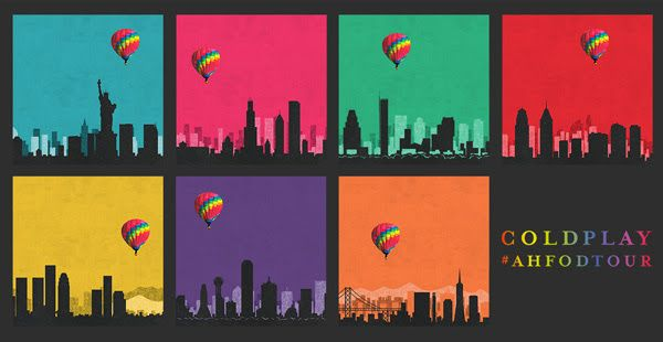GoRockfest.Com: Coldplay Tour Dates 2016
