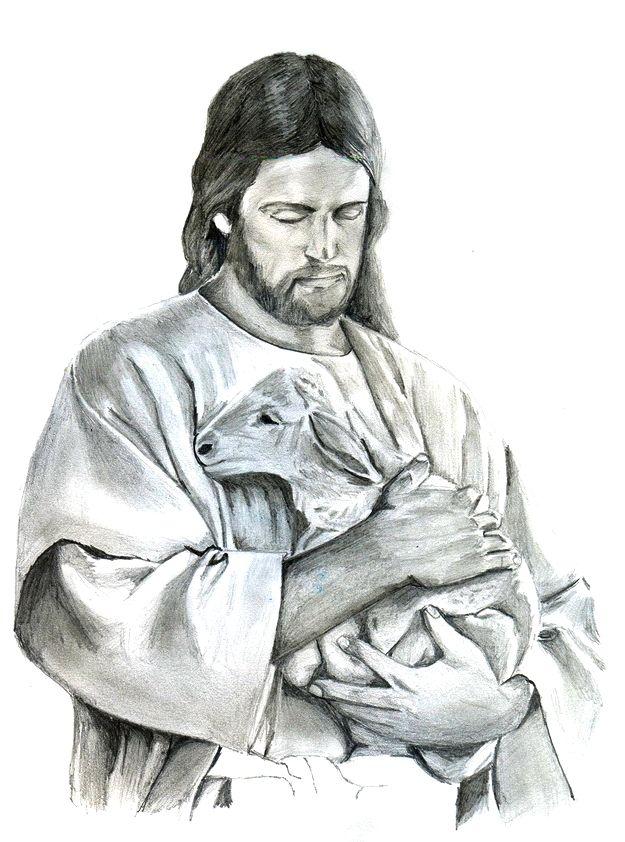 Drawn Lamb Jesus 3 Jesus Art Drawing Jesus Christ Drawing Jesus Art