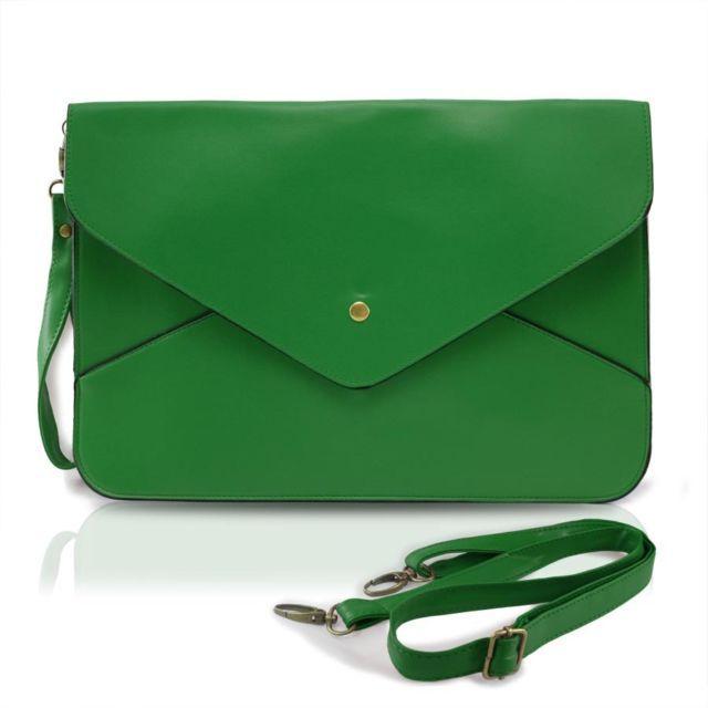 Zöld boríték táska