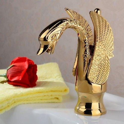 Ayaz G001k Kuğu Tasarım Altın Musluk Banyo Bataryası 299,90 TL ve ücretsiz kargo ile n11.com'da! Diğer Lavabo Bataryası fiyatı Banyo