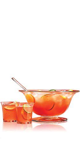 Bacardi - BACARDI Holiday Punch - Rum, cranberry juice, ginger ale, orange juice, lime juice, lemon juice.