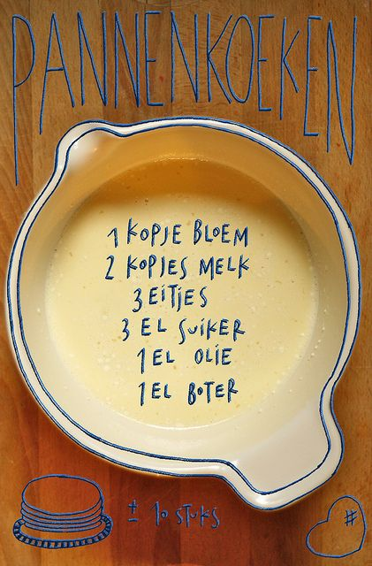 Pannenkoeken - Lichtmis by Mme Zsazsa, via Flickr