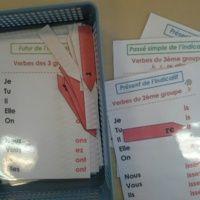 Atelier conjugaison : les verbes à encoches