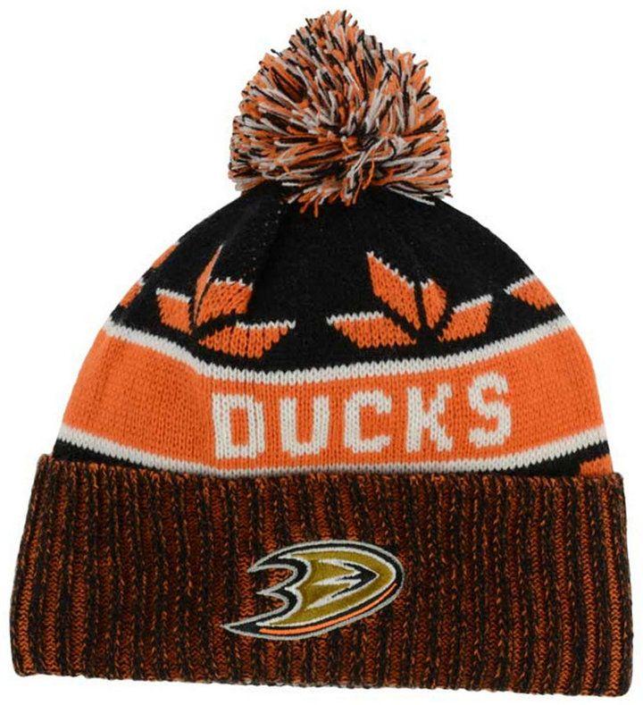 Old Time Hockey Anaheim Ducks Dasher Pom Knit