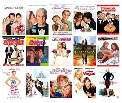 totally watching all these  before the wedding :)
