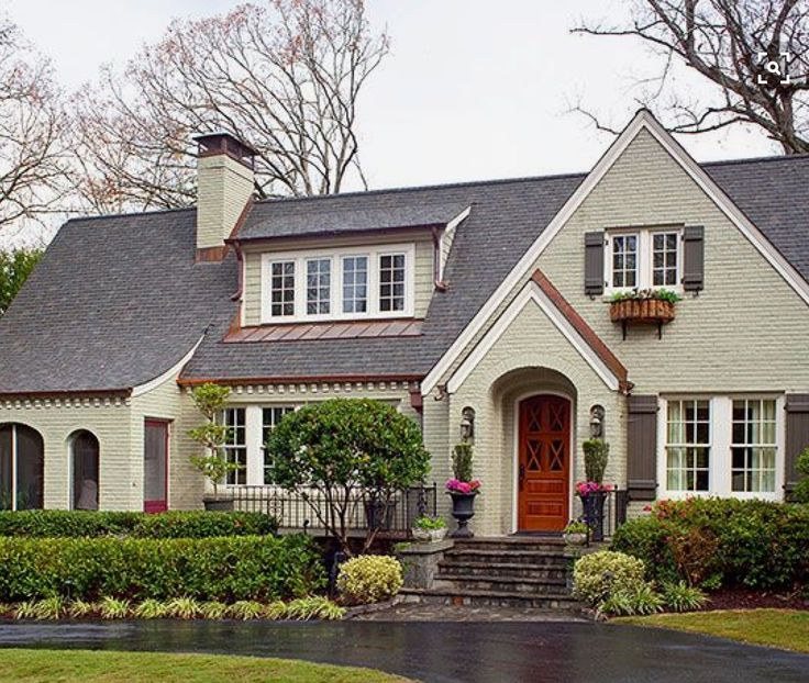 What Color Should I Paint My House 62 best trim and shutters to go with cream siding images on