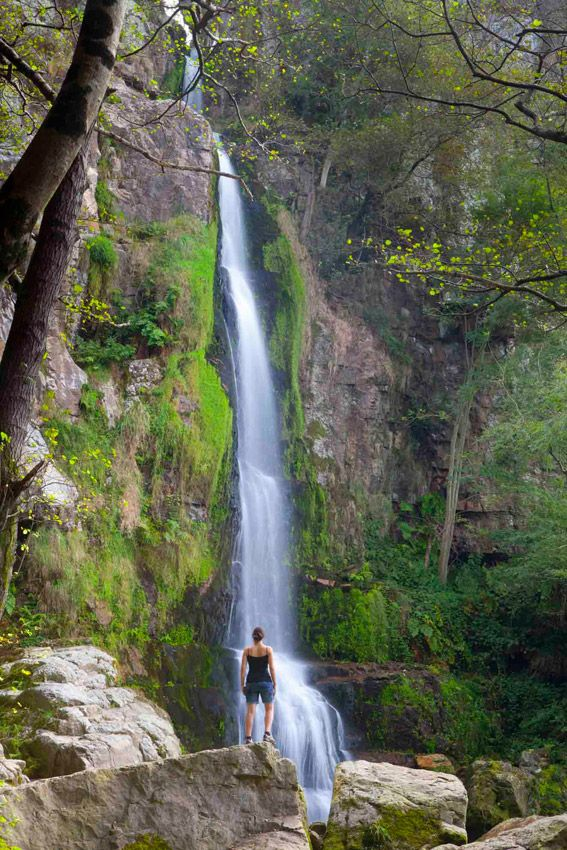 Oneta Waterfalls - declared a Natural Monument by the Government of the Principality of Asturias, are a reference point for many visitors.
