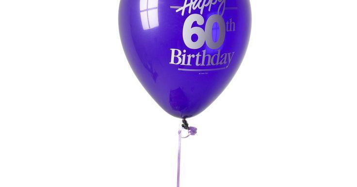 Refranes divertidos para el cumpleaños número 60