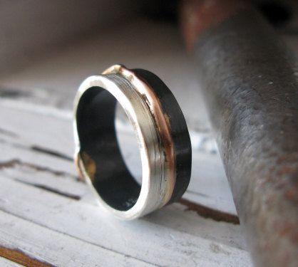 Lovely Mens Handmade Gold Ring Jewellrys Website