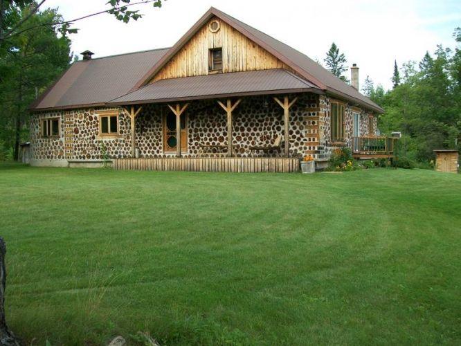 Best 25 cordwood homes ideas on pinterest wooden house for Cordwood homes