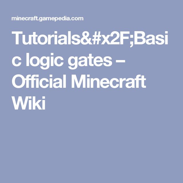 basic logic gates tutorial pdf