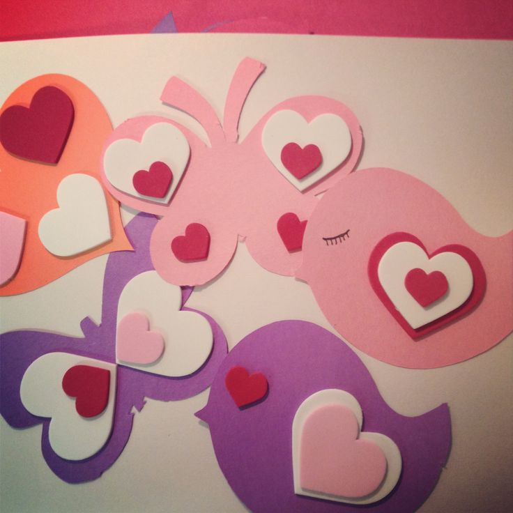 Simple Valentine craft for kids