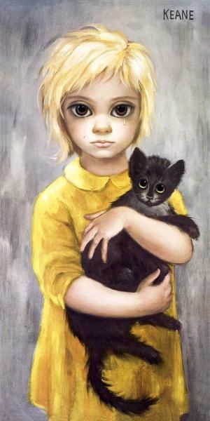 """The Stray"" Margaret Keane $195, ""First Love"" Kane $29, ""Pity Kitty"" Gig $45 Even if you haven't seen the recent movie ""Big Eyes"" I&#821…"