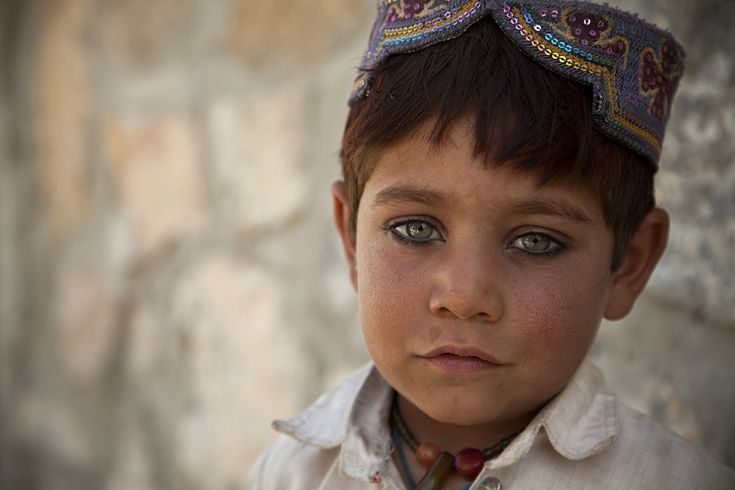 An Afghan child in Helmand province, March 2013