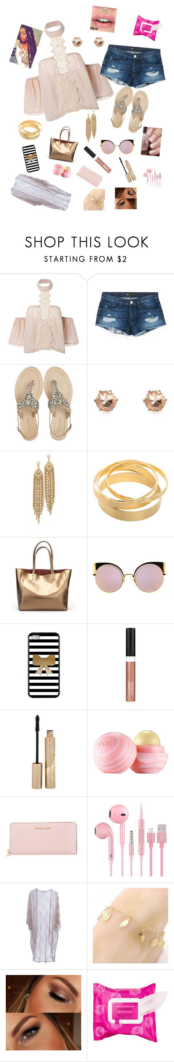 """""""Last Day of Summer"""" by trinsanity ❤ liked on Polyvore featuring 3x1, Antik Batik, River Island, Capwell + Co, Fendi, Wet n Wild, Stila, Eos, MICHAEL Michael Kors and Roses Are Red"""