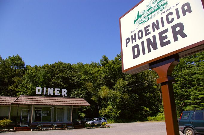 The Phoenicia Diner, NY