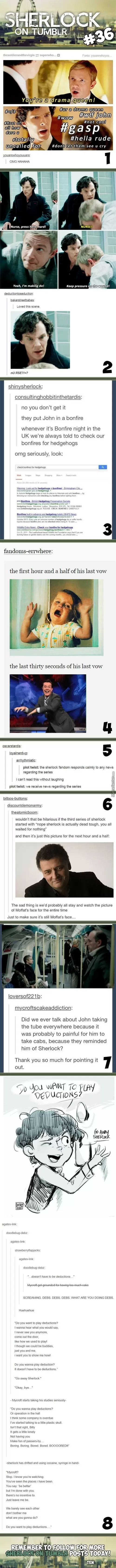 Sherlock On Tumblr #36<<man that last one was sad as heck..my eyes might have become blurry, slightly