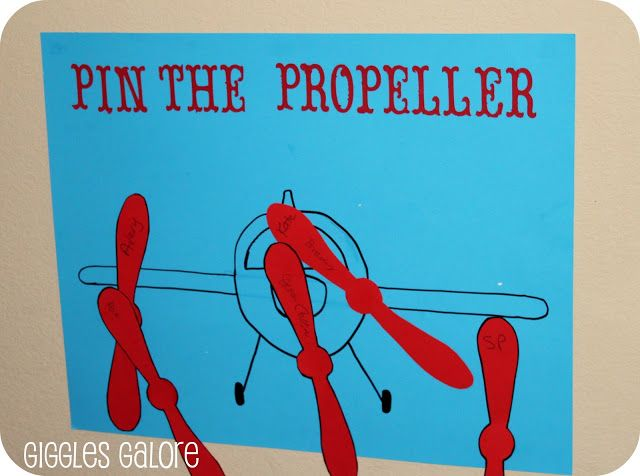 Pin the propeller on Dusty