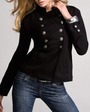 Best 20  Black military jacket ideas on Pinterest | Military ...