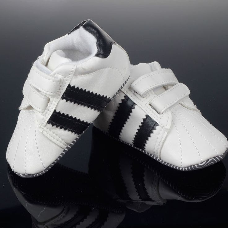 Baby Boy Shoes Soft Sole Crib Shoes Leather Velcro Sneaker Months Baby Shoes I #Unbranded #CribShoes