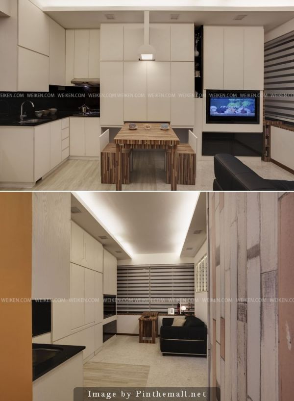 HDB Studio Apartment BLK 158 Mackenzie By Weiken ID Pte Ltd