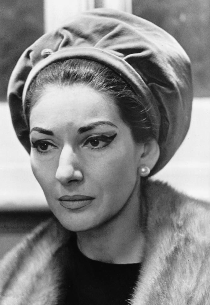 Maria Callas (omg, I think this is what I'm going to look like when I'm older!!!! Still fabulous, thank goodness...)
