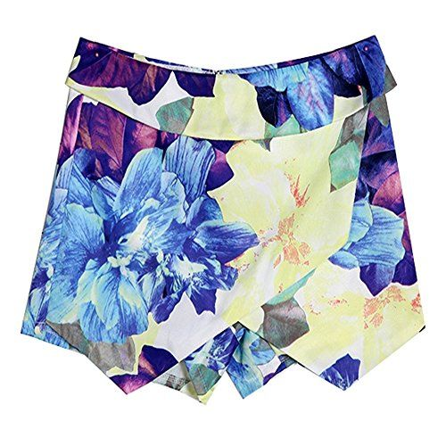 MEXI Women Vogue Falbala Print Hot Pant Casual Floral Pleated Culottes Skort L Mexi http://www.amazon.com/dp/B010NE83GA/ref=cm_sw_r_pi_dp_BC.Yvb0GZE5ZP