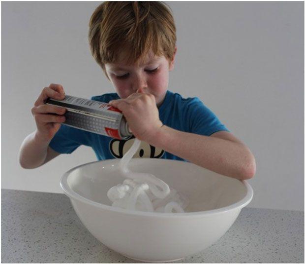 Snow making 2 ingredients