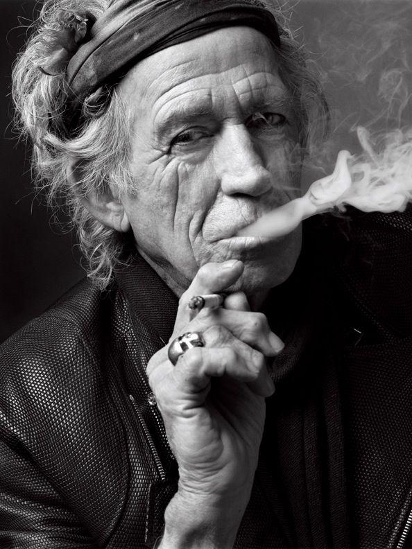 Mark Seliger Keith Richards. New York (2011)