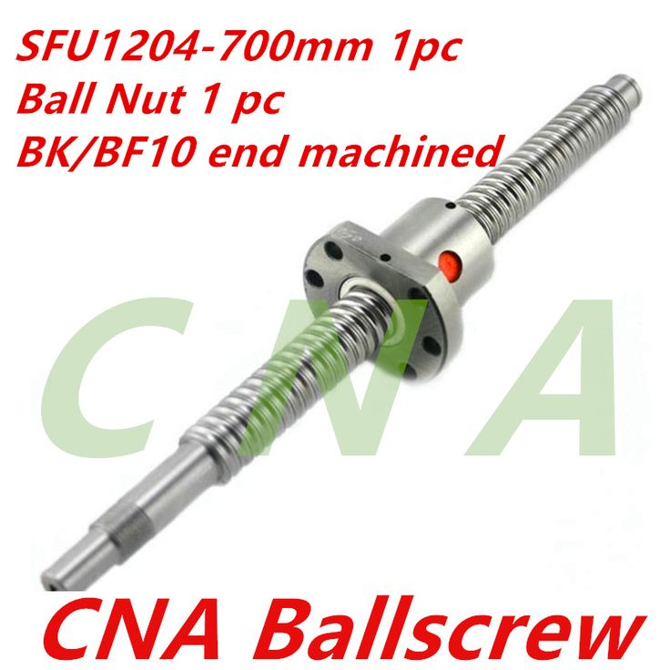 Free Shipping for 1pc SFU1204 700mm Ballscrews +1pc 1204 ball nut bk/bf10 end machined CNC parts Woodworking Machinery Parts //Price: $46.13//     #shop