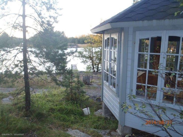 Myytävät loma-asunnot, Sandöströmmen, Byö 255A, 10900 Hanko #kesämökki #oikotieasunnot