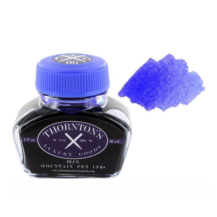 Thornton's Luxury Goods Fountain Pen Ink 30ml Bottle