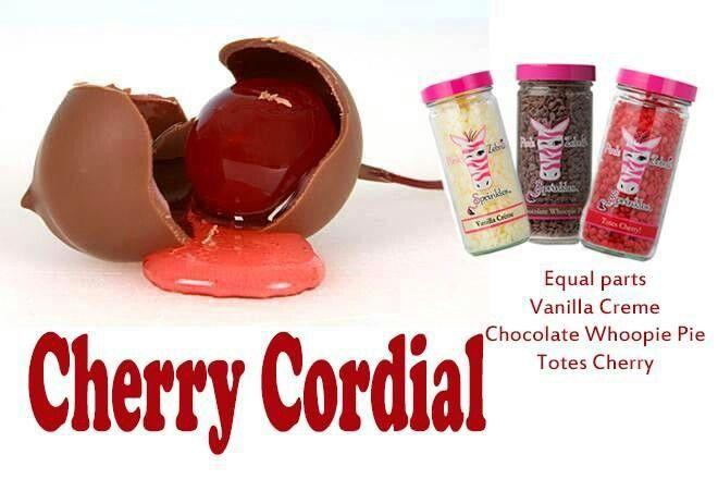 cherry cordial valentine's day cupcakes
