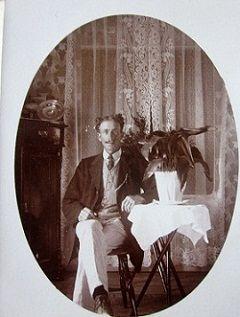 Adolf Jansson. Melstuga, Taseboda, Högerud.