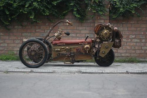 Steampunk Trike by pofigist