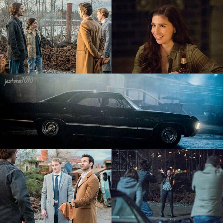 """Promo pics of #supernatural next episode 12.17 """"The British Invasion"""" Cr: CW"""