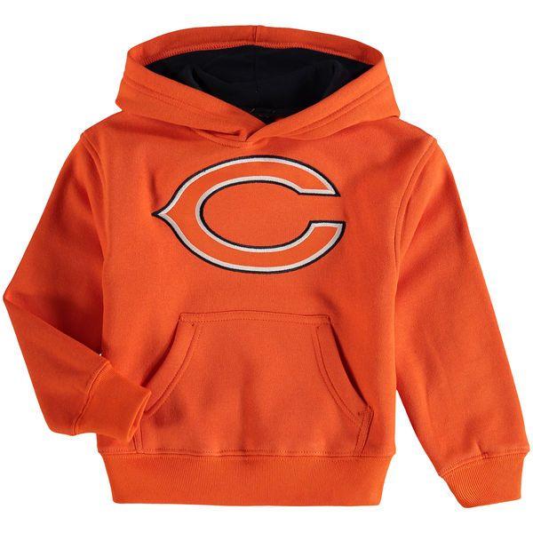 Chicago Bears Preschool Fan Gear Prime Pullover Hoodie - Orange - $29.99