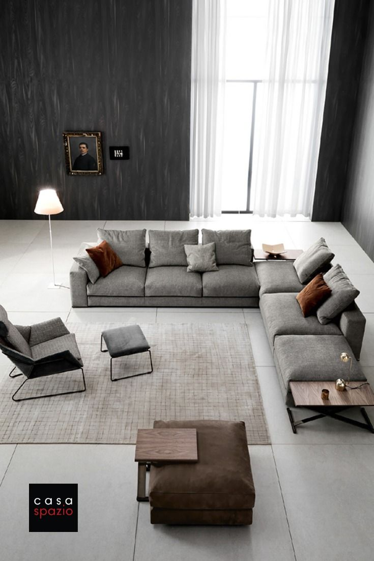 Modern Sectional Ananta Class By Saba Modern Sofa Sectional