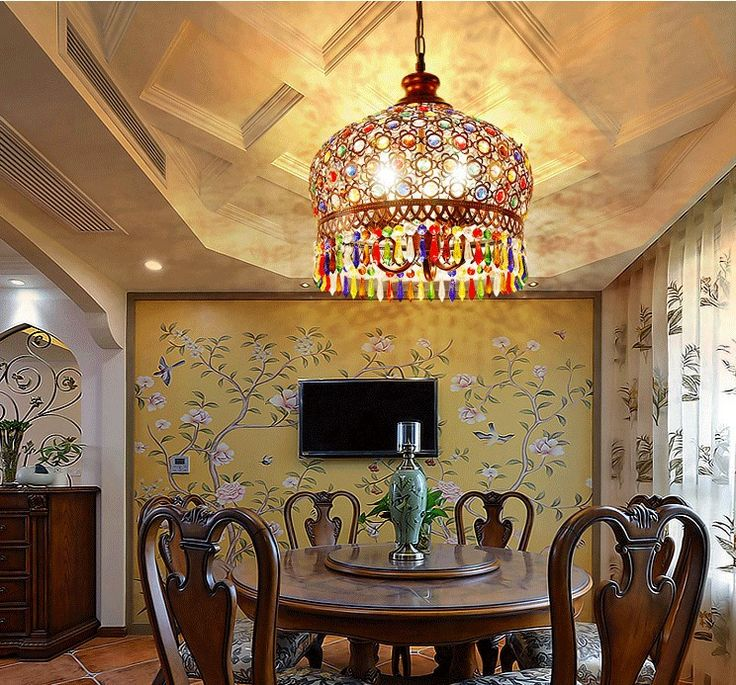 Is the romantic color of Bohemia attracted to you?  #romantic #home #design #decor #art #light #interior #Bohemia