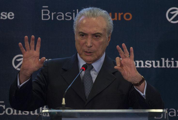 Brasil: primer pedido de juicio político contra el presidente Temer