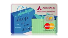 Reduce risk of cariying cash for your needs with the #AXISBANK multiple use #Debitcard