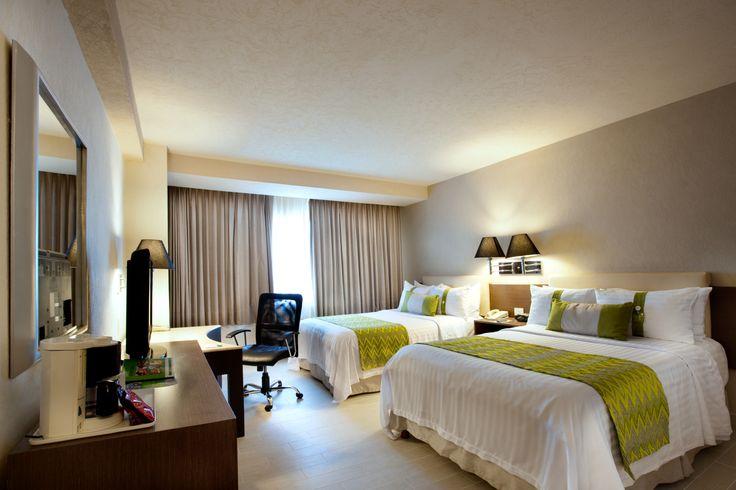 Habitación 2 camas Holiday Inn Puebla La Noria