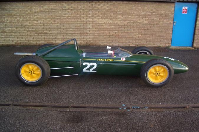 Classic Formula One Car For Sale – 1962 Lotus 24