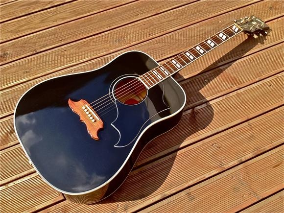 gibson elvis presley black dove 37jt acoustic classic guitars guitar black acoustic. Black Bedroom Furniture Sets. Home Design Ideas