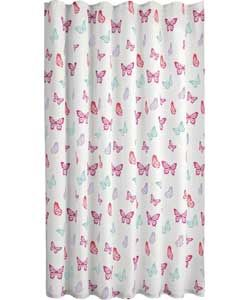 Butterfly Shower Curtain.
