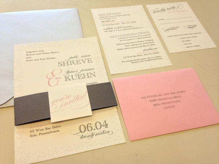 15 best Custom Wedding Invitations images on Pinterest Weddings