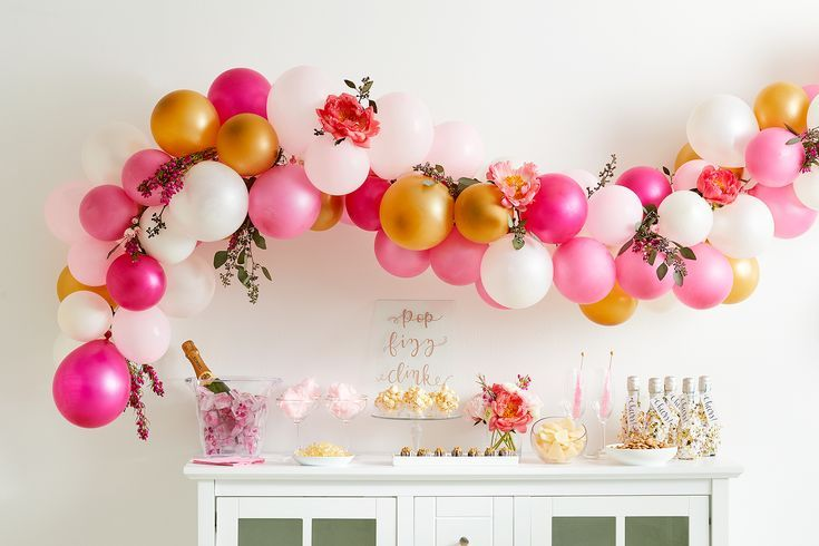 How to Make This Beautiful Balloon Garland (in Less than an Hour!)