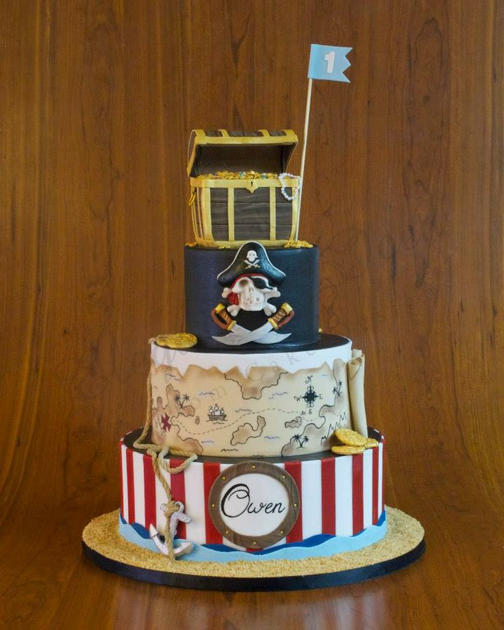 1000 Ideas About Treasure Chest Cake On Pinterest