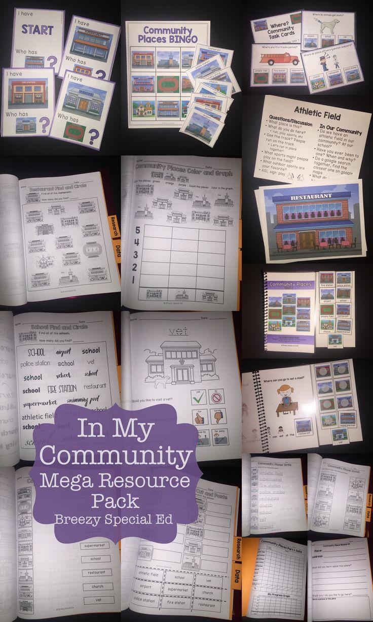 Community Places Mega Unit for Special Education